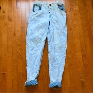 Vintage Jeans - Vintage L.A blues high waisted tapered mom jeans